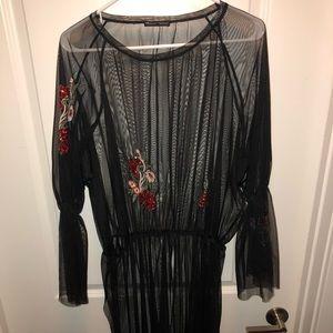 Zara Dresses - Zara mesh dress